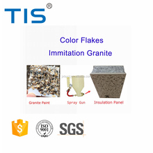 Granite effect flakes stone spray paint