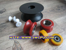 plastic sliding guide pulley