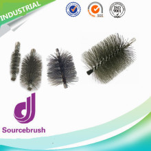 stainless steel polish sprial tube cleaning chimney flue brushes industrial