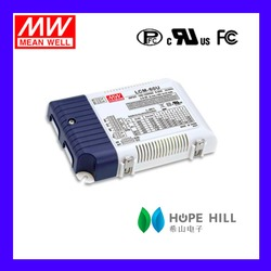 Original MEAN WELL LCM-50U MODEL 500mA Switching Power Supply with Single Output