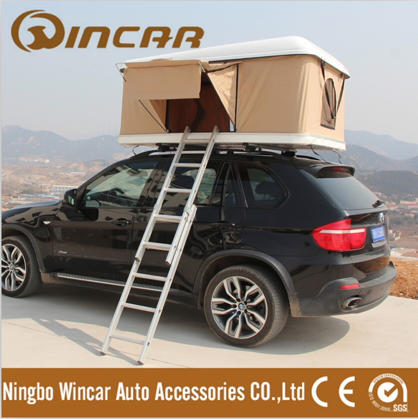 4WD Car Roof waterproof Hard Shell Roof Top Tent