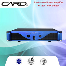 top selling audio amplifier high power aluminum panel 2 channel pro amplifier 900W