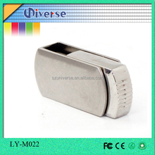 Flat metal common use usb flash drive 4gb with lowest price