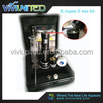 Wonderful vape pen handy enail K-Aspen II wax kit with cloud vape 510nail