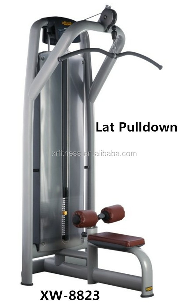 hot hot strength training Seated Lat Pull-down Machine/Cable pulling gym equipment/Pull-down fitness equipment made in China