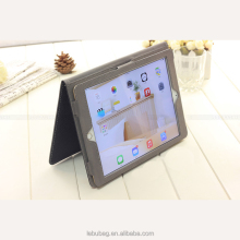 New arrival leather PU shockproof smart flip stand cover case for tablet ipad with handle automatic lock screen save electricity