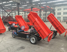 Electric Cargo Tricycle,Adult Electric Dump Tricycle for Cargo