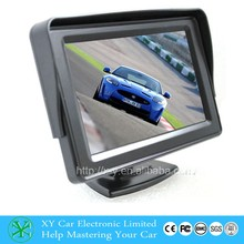 "Hot selling 4.3inch stand monitor, 4.3"" tft lcd foldable car monitor XY-2036"