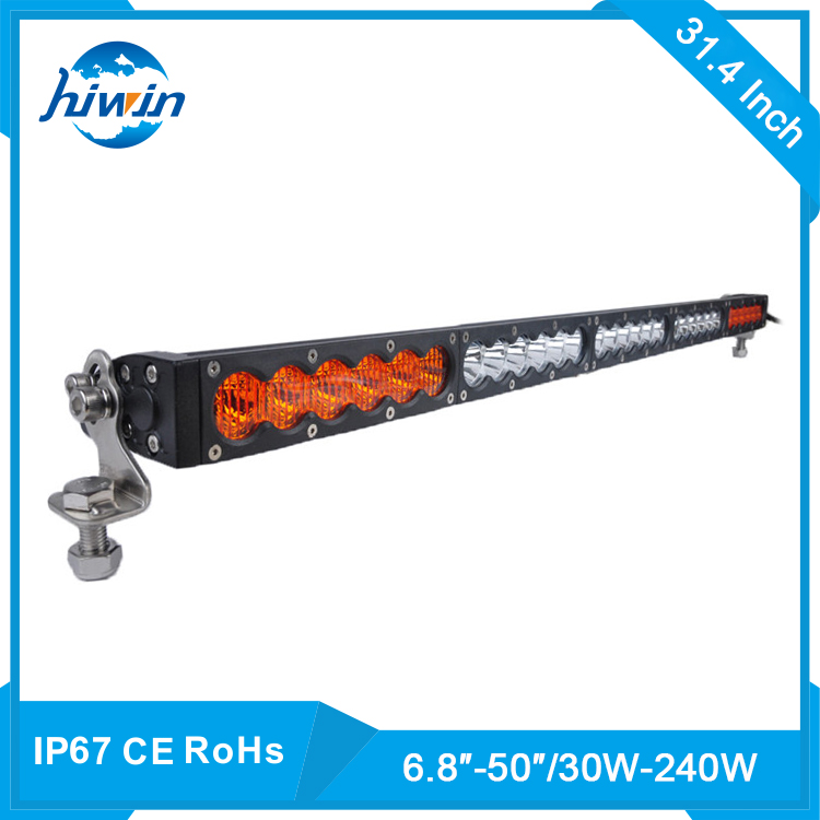 Hiwin 4x4 Off Road Car Led Off Road Bar Lamp 12v 24v 126w Sxs 18 Led Light Bar YP-854