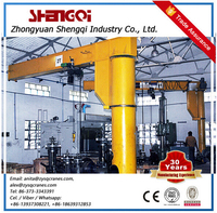 High-Duty Mini Jib Crane Mini Crane With Derricking Jibs