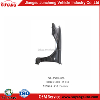 Nissan A33/Infiniti I33 Front Fender Body Parts With ISO/TS16949