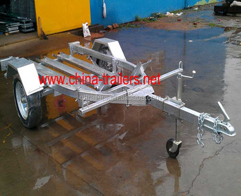 Galvanized Motorcycle Trailer TR0607