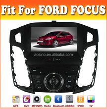 touch sreen car dvd player with GPS navigation special fit for focu 2012 2013 2014 with audio radio bluetooth ipod