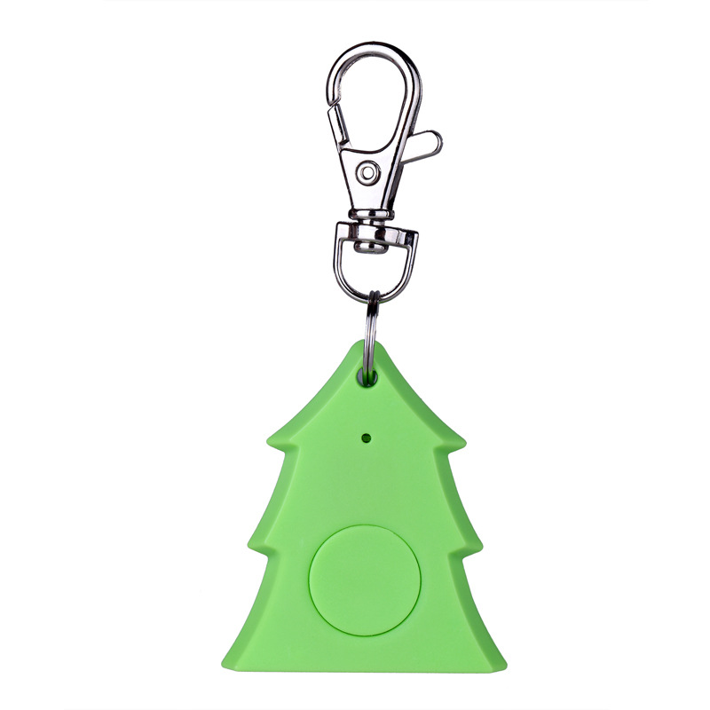 Christmas Tree Shape Wireless Key Finder Anti Lost Alarm  BT 4.0  Smart iTag GPS Bluetooth Key Tracker For kids