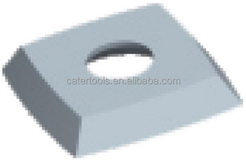 Square Knife with Round Edges - Carbide Insert for woodworking