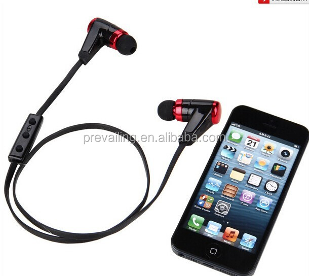 Stylish Bluetooth earphone/earbuds with bluetooth telephone and wireless listen music function