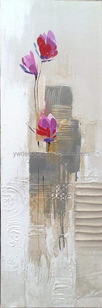 contemporary abstractive flower decorative oil painting