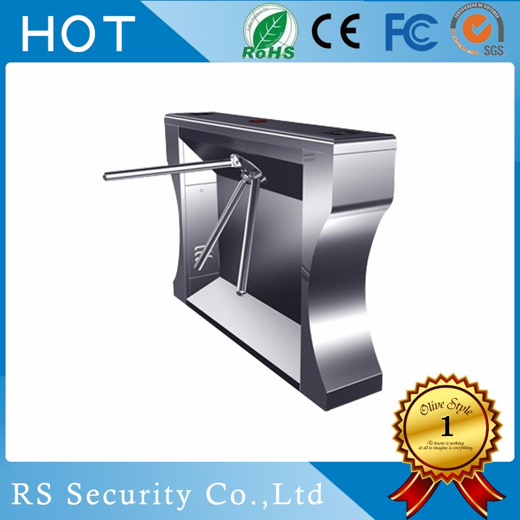 Waist height Tripod type Turnstile gate access control system