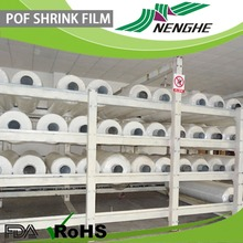 transparent packaging POF shrink film food packaging plastic roll film