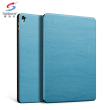Leather surfsce wood case for ipad 2&3, for ipad mini2 case, for ipad mini-case