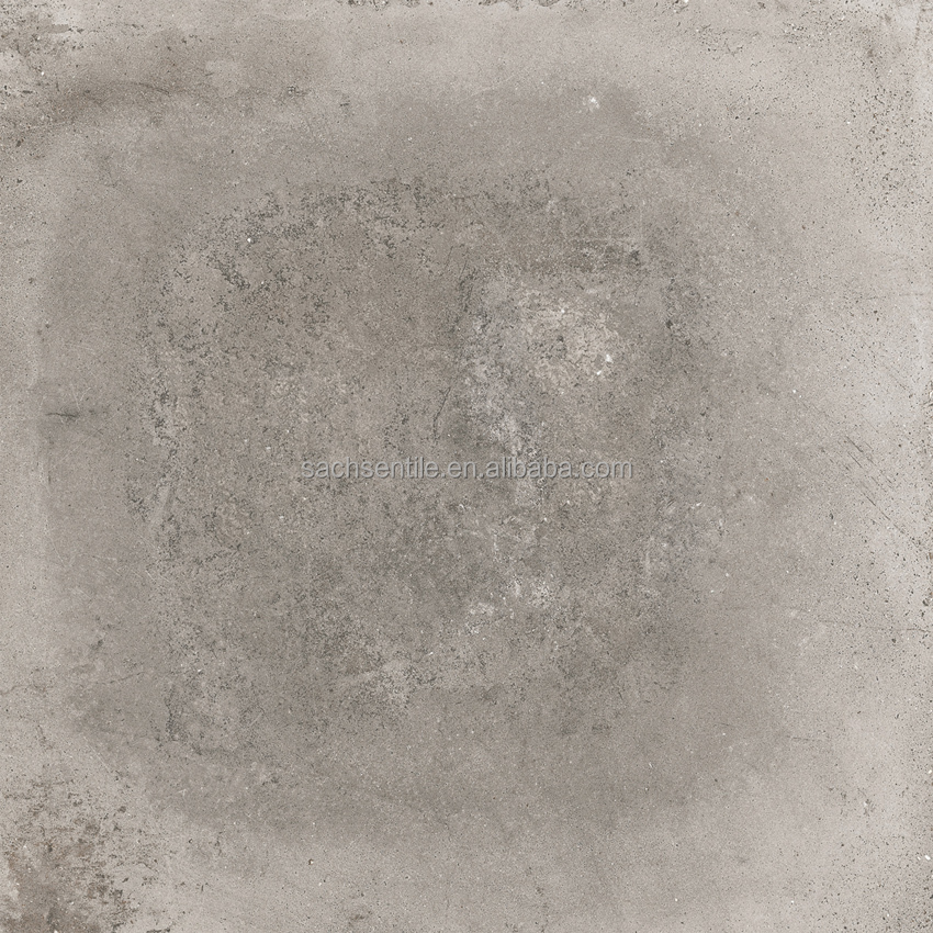 24 '' x 24 '' grey colour full body concrete rustic porcelain indoor wall and floor tiles