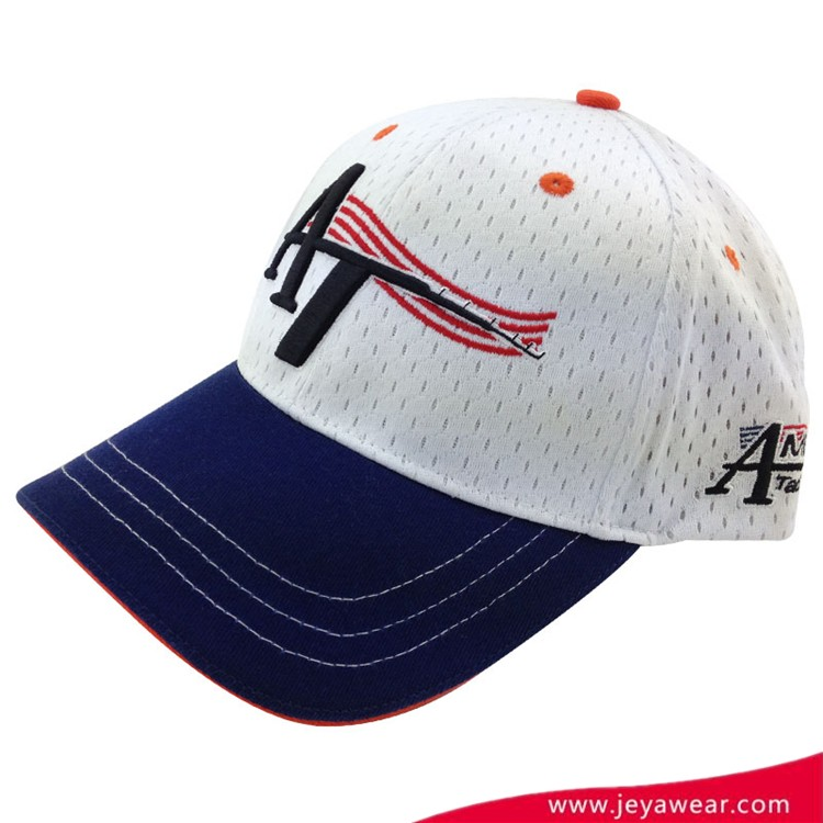 Top Quality Embroidered Promotion Custom Baseball Cap Custom Advertising Cotton Sport Cap