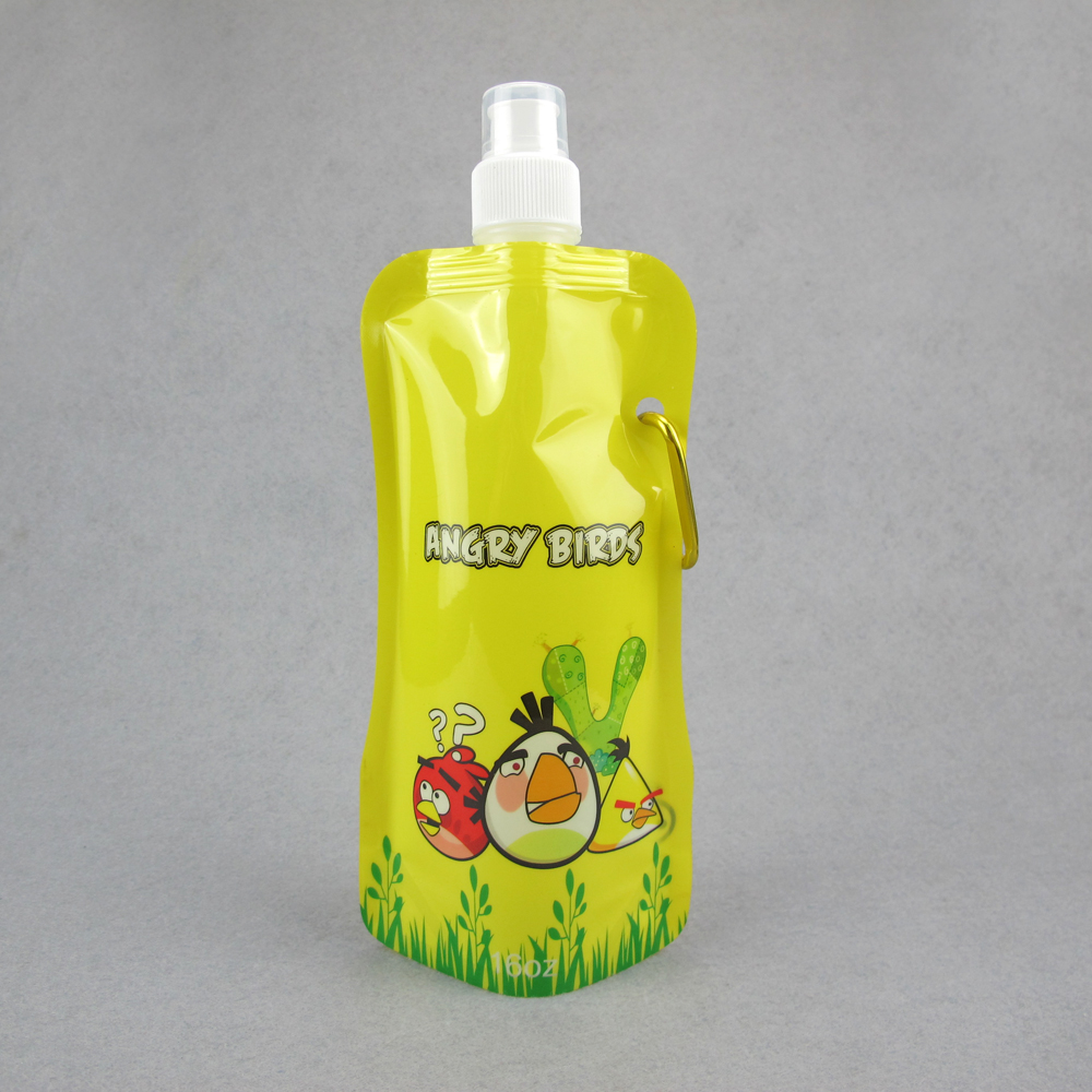 foldable water bottle joyshaker/plastic water bottle for promotion/sport water bottle plastic