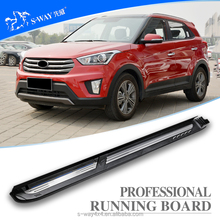 best price hyundai ix25 aluminum alloy running board for SUV pedal/nerf bar