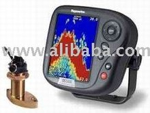 Ds-500x Digital Fish Finder W/ Thru-Hull Transducer