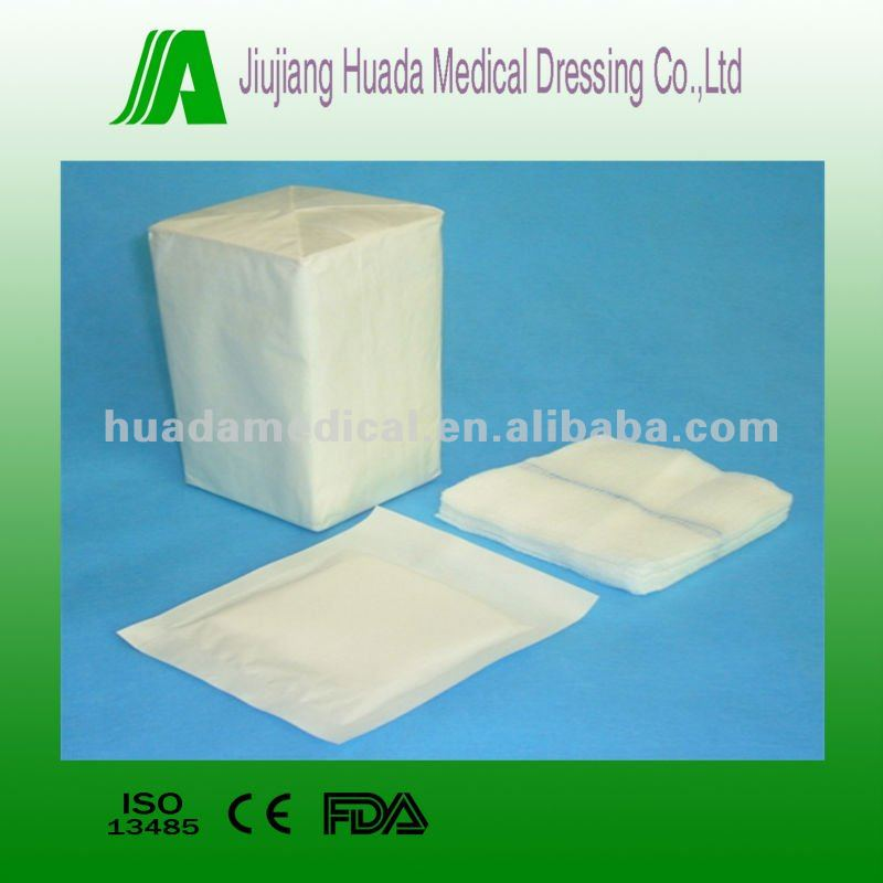 Disposable absorbent medical surgical gauze sponges mesh 19x15 24x20 26x18