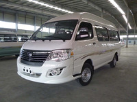 China Brand Left/Right Hand Drive High Roof Minibus