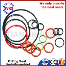 Good feature import grade clear rubber o rings box