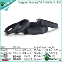 wholesale Premium adjustable Nylon Dog Collar with Reflective stitching