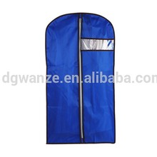 popular PEVA foldable garment bag travel dry cleaning garment bag PEVA garment bags for clothing
