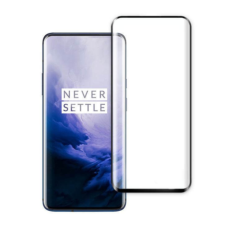 Read To Ship Amazon Providing UPC Barcode For <strong>1</strong>+7 pro screen protector 3D 9h tempered glass For Oneplus 7 Pro screen Protector