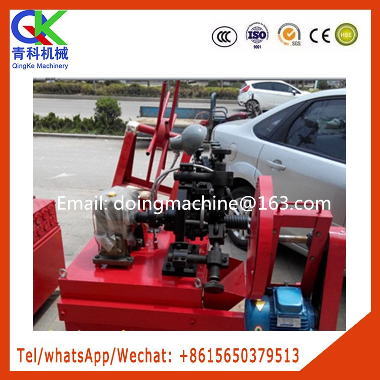 Automatic corrugated tube roll mill