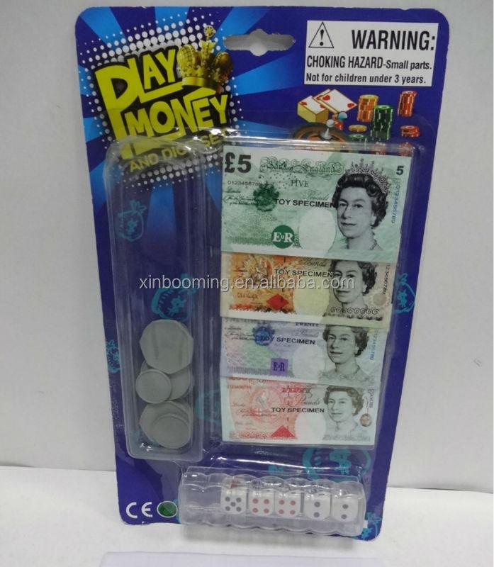 Fake Toy Money : Toys fake money euro play set buy