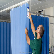 Manufacturer directly Anti-bacterial and Fire-retardant Fabric Hospital Curtain