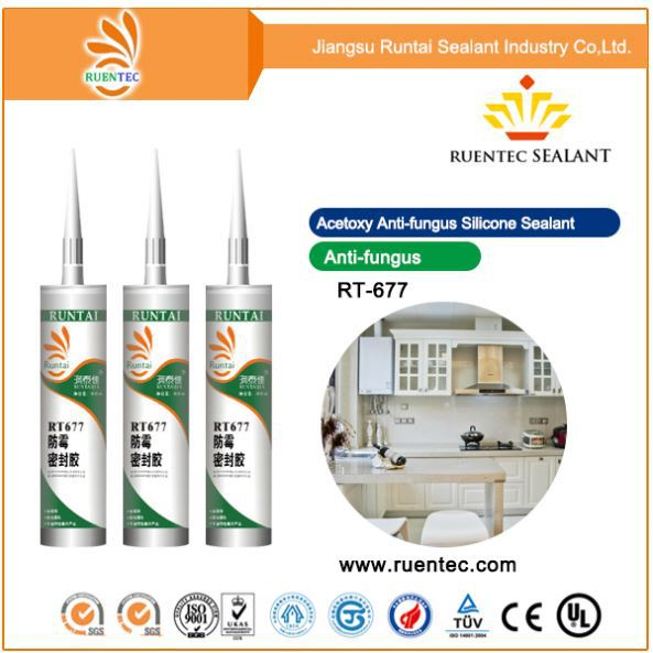 Single component glass stone aluminum panel curtain wall structural silicone sealant