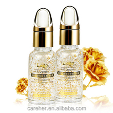 24k gold foil hyaluronic acid essence Vitamin C anti aging serum