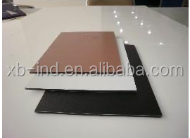 fireproof brushed aluminum composite panel