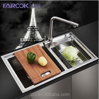 Custom Made Kitchen Sinks & Hand Make Stainless Steel Kitchen Sink ...