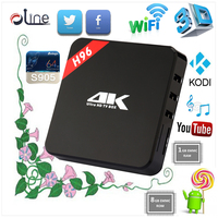 H96 Android 5.1 Smart TV Box Amlogic S905 Quad-Core Int box with Dual Band Wifi and Kodi Fully Loaded cheapest android tv box