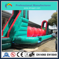 commercial inflatable wipe out ball challenge,inflatable wipeout jumping baller for sale