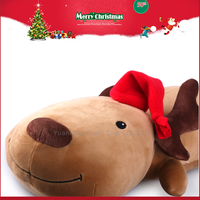 Cheap Animal Doll Christmas Plush Toys 25cm Baby Deer for Kids
