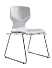 New design wood ding chair with stainless steel frame CA86