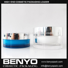 Cheap Price Round Shape Recycled Plastic Cosmetic Jars for Packaging Cosmetic