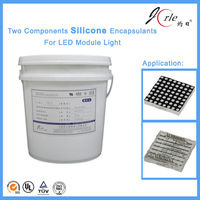 Make electronic LED silicone rubber gel