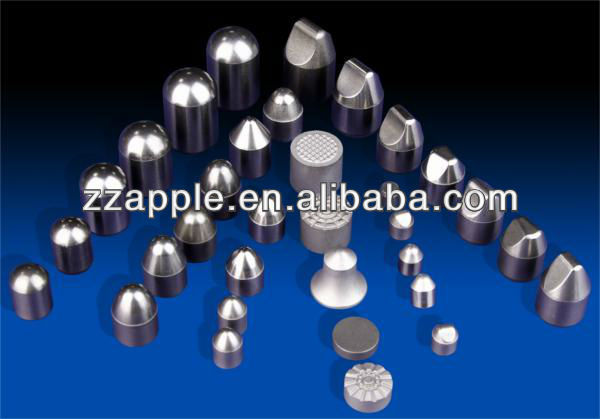 YG8C tungsten carbide durable button tips for mining tools
