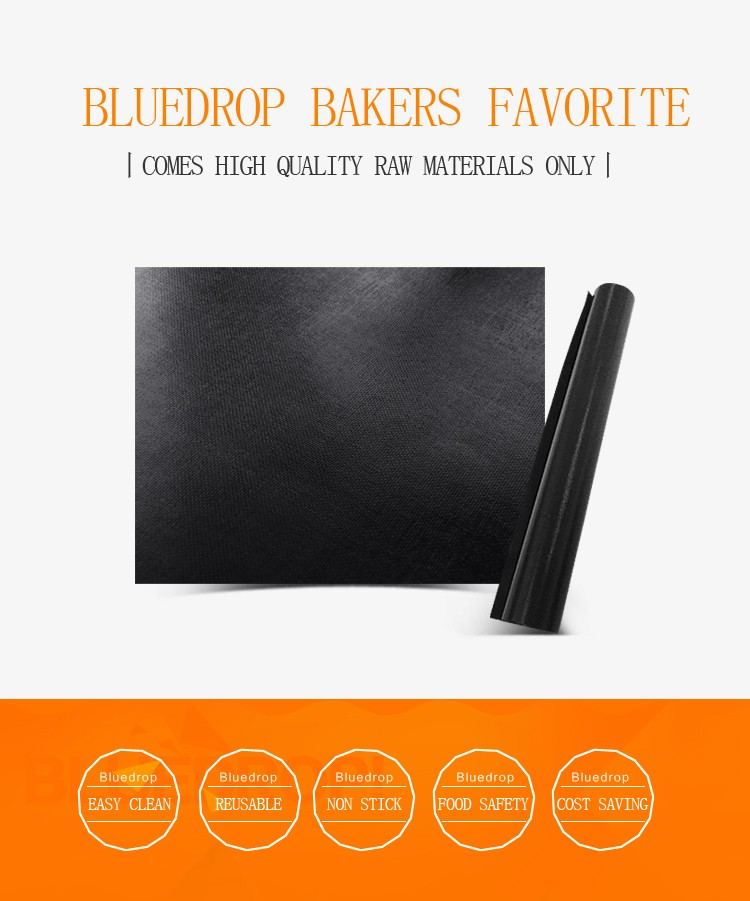 Bluedrop brand non stick oven liner